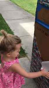 Marine Dad Surprises Daughter by Coming Home Gift-Wrapped in Box [Video]