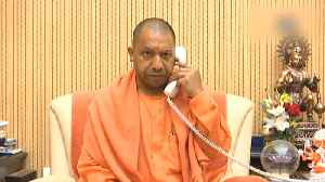 UP CM Yogi addresses 'Balurghat'rally by telephone after WB govt denies permission [Video]