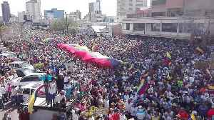 Large Crowd Marches in Support of Juan Guaidó in Maracaibo, Venezuela [Video]