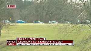 Clermont County standoff is over [Video]