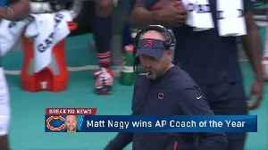'Super Bowl Live' crew discusses Chicago Bears head coach Matt Nagy winning AP Coach of the Year [Video]