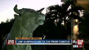 University of South Florida suspends Delta Chi from campus [Video]
