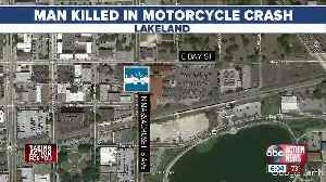 Police: Lakeland motorcyclist hit, killed after turning out of Harley Davidson parking lot [Video]