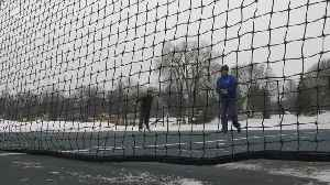 How To Play Outdoor Tennis In The Dead Of Winter [Video]