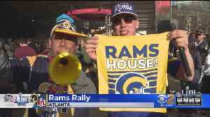 Rams Hold Pre-Super Bowl Rally In Atlanta [Video]