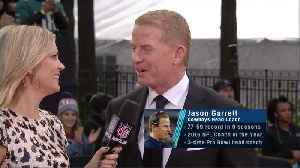 Dallas Cowboys head coach Jason Garrett on Kellen Moore becoming Cowboys' Offensive Coordinator: 'He's got a really bright futur [Video]