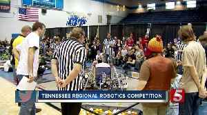 Students travel to MTSU for robotics competition [Video]