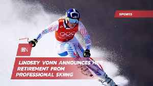 Lindsey Vonn Is Hanging Up Her Racing Skis [Video]