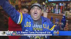 LA Rams Fans Pumped Up [Video]