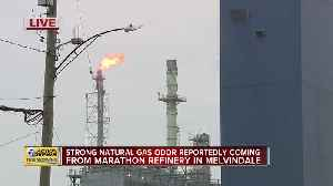 Strong Natural Gas Odor Reported [Video]