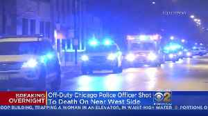 Off-Duty Chicago Police Officer Found Dead On Near West Side [Video]