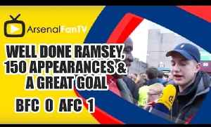 Well Done Ramsey, 150 Appearances & A Great Goal | Burnley 0 Arsenal 1 [Video]