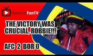 The Victory Was Crucial, Robbie!!! (Lumos) - Arsenal 4 Newcastle 1 [Video]