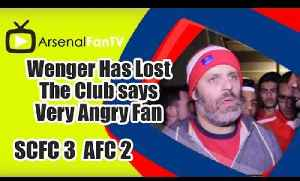 Wenger Has Lost The Club says Very Angry Fan - Stoke City 3 Arsenal 2 [Video]