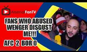 Fans Who Abused Wenger Disgust Me!!! - Arsenal 4 Newcastle 1 [Video]