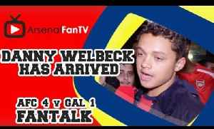 Danny Welbeck Has Arrived !!! - Arsenal 4 Galatasaray 1 [Video]