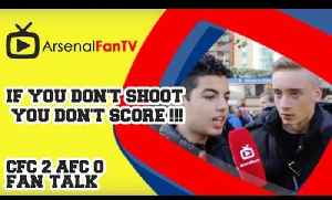If You Don't Shoot You Don't Score !!! - Chelsea 2 Arsenal 0 [Video]
