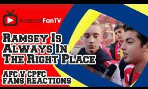 Aaron Ramsey Is Always In The Right Place - Arsenal 2 Crystal Palace 1 [Video]