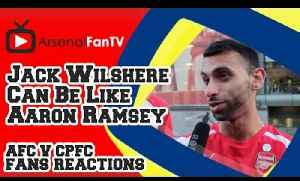 Jack Wilshere Can Be Like Aaron Ramsey says Moh - Arsenal 2 Crystal Palace 1 [Video]