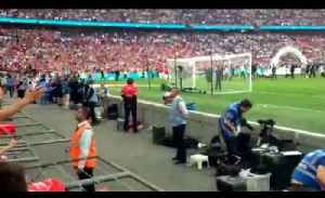 FA Cup Final: Arsenal Fans Sing