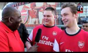 Arsenal 4 Everton 1 - Fan Recites An FA Cup Poem / We Want Man City's Blood [Video]