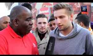 Arsenal 4 Everton 1 - Wenger Impressionist /We Can Win The Cup [Video]