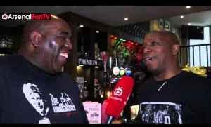 The Legendary Ian Wright Gives His Verdict On The North London Derby! [Video]