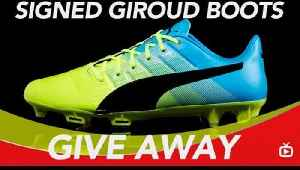 Win Olivier Giroud's Boots - Just SUBSCRIBE TO AFTV [Video]