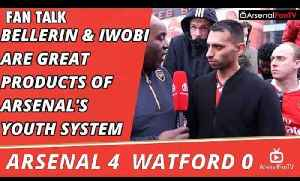 Bellerin & Iwobi Are Great Products Of Arsenal's Youth System    Arsenal 4 Watford 0 [Video]