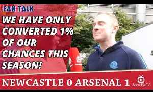 We Have Only Converted 1% Of Our Chances This Season!   | Newcastle 0 Arsenal 1 [Video]