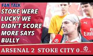 Stoke Were Lucky We Didn't Score More says Bully | Arsenal 2 Stoke 0 [Video]