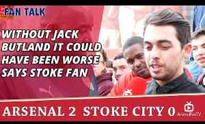 Without Jack Butland It Could Have Been Worse says Stoke Fan [Video]
