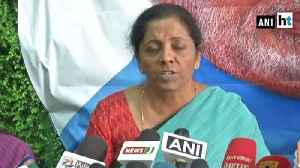 TMC government is working in a vindictive manner: Nirmala Sitharaman [Video]