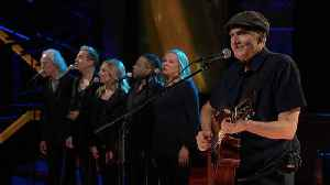 James Taylor Performs 'Shower The People' [Video]