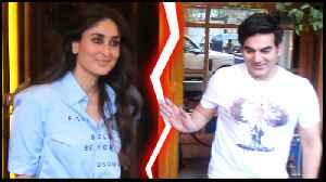 Kareena Kapoor Steals Limelight From Arbaaz Khan | Media Avoids Arbaaz Khan [Video]