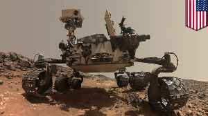 NASA Curiosity rover shares new Mars selfie [Video]