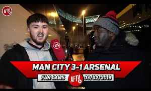 Man City 3-1 Arsenal | We Just Crumble In These Big Away Games!! [Video]