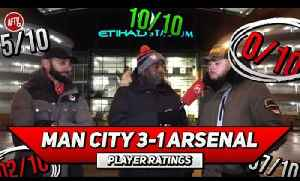 Man City 3-1 Arsenal | We Are Nowhere Near City's Level! | Player Ratings Ft DT & Moh [Video]
