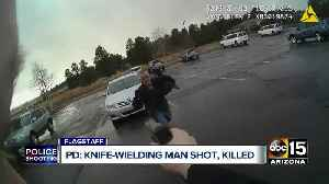 Flagstaff police fatally shoot man with knife [Video]