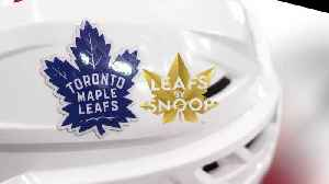 Canadian Maple Leafs Hockey Team Say Snoop Dogg Weed Brand Stole Logo [Video]
