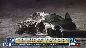 5 kids killed in early morning crash; State Police investigate [Video]