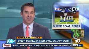 Study shows effects of so-called 'Super Bowl fever' [Video]