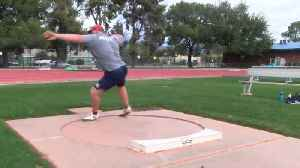 Meet Jordan Geist: UA's Olympic-hopeful shot put prodigy [Video]
