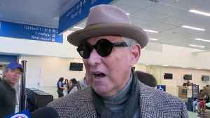 WEB EXTRA: Roger Stone Arrives Back In South Florida After Court Hearings In Washington D.C. [Video]