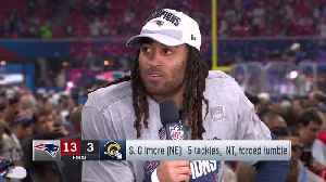 Stephon Gilmore discusses his crucial interception [Video]