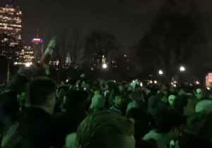 Thousands Gather on Boston Common to Celebrate Patriots' Super Bowl Win Over Rams [Video]