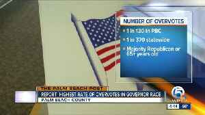 Report: Palm Beach County had highest rate of overvotes in governor's race [Video]