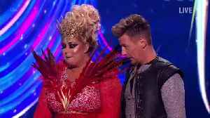 Dancing On Ice's Gemma Collins Gets Teary After 'Legs Turn To Jelly' During Latest Performance [Video]