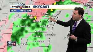 Michael Fish's NBC26 Storm Shield ice weather forecast [Video]