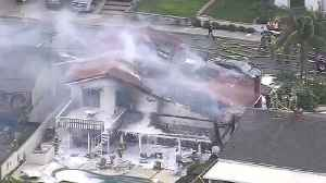 Small Plane Crashes Into House, Kills 5 In So. Cal [Video]